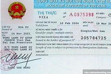 Thí điểm cấp thị thực điện tử cho công dân 40 nước