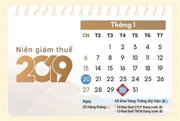 Niên giám Thuế 2019