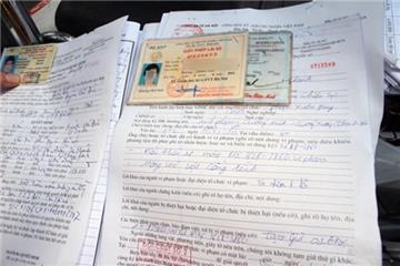 Mất biên bản vi phạm giao thông nộp phạt thế nào?