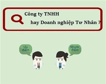 Chọn Doanh nghiệp tư nhân hay Công ty TNHH một thành viên?