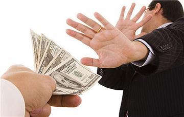 Những giao dịch không được dùng tiền mặt