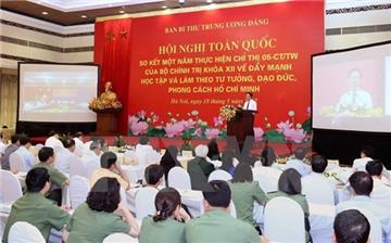 Chỉ thị 05 về học tập và làm theo tư tưởng Hồ Chí Minh
