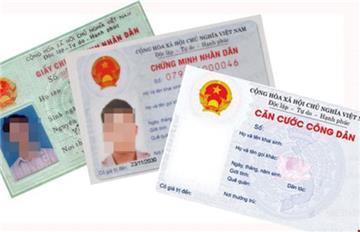 Mẫu Giấy đề nghị xác nhận số Chứng minh nhân dân (CC13)