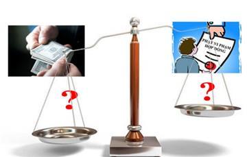 So sánh phạt vi phạm và bồi thường thiệt hại hợp đồng thương mại