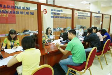 Cấp CMND, Thẻ Căn cước công dân tại Bộ phận Một cửa
