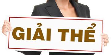 Công bố giải thể công ty cổ phần là gì?