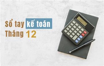 Sổ tay kế toán tháng 12/2019