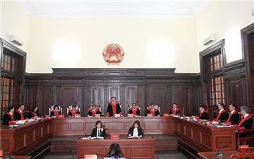 Tòa án nhân dân tối cao lấy ý kiến góp ý 17 dự thảo án lệ