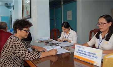 Do dịch Covid-19: Chi trả lương hưu, trợ cấp bảo hiểm qua bưu điện