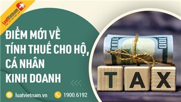 17 điểm mới của Thông tư 40/2021 về thuế hộ kinh doanh