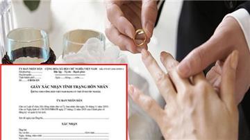 8 quy định về giấy xác nhận tình trạng hôn nhân