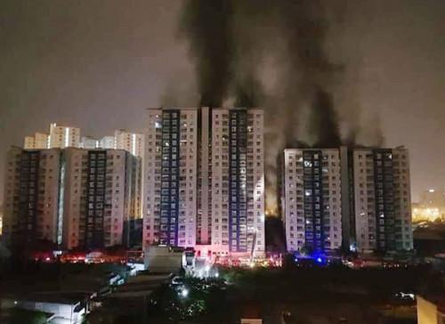 Thủ tướng ra Công điện về vụ cháy chung cư ở Sài Gòn