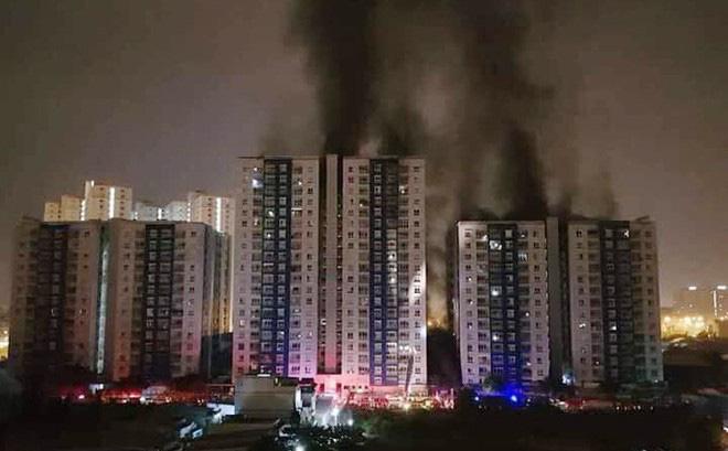 Chung cư cháy được bảo hiểm bồi thường