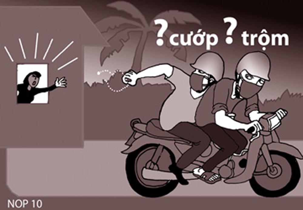 Chống trả người bắt trộm có chuyển thành tội cướp tài sản?