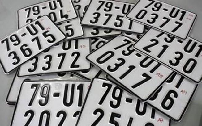 Biển số xe có phải tài sản cá nhân?