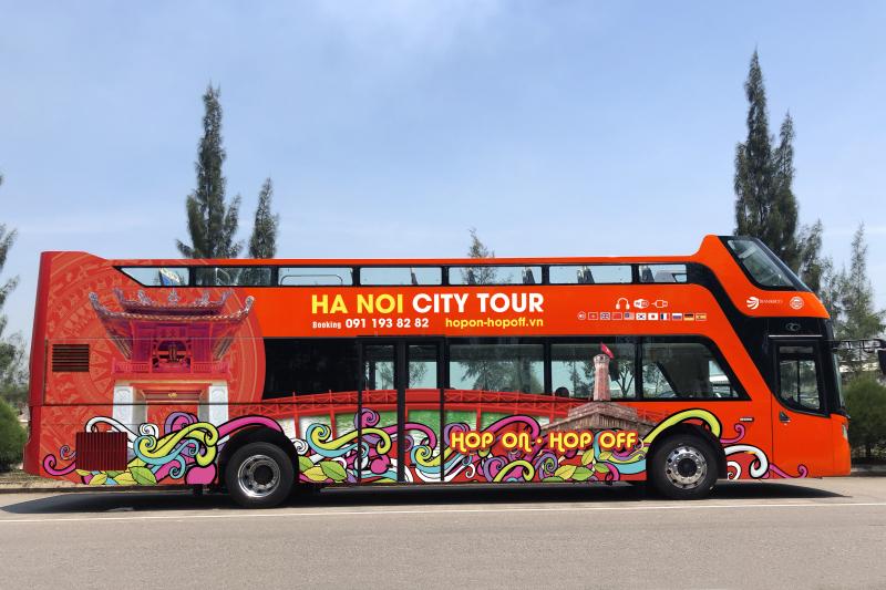Giá vé xe bus 2 tầng ở Hà Nội
