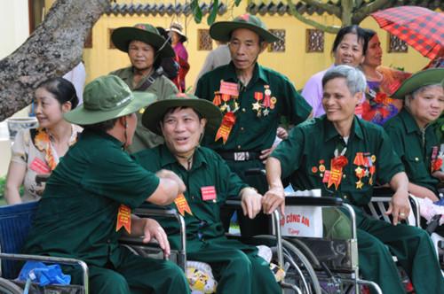Chính sách hỗ trợ thương binh, bệnh binh ngày lễ, tết