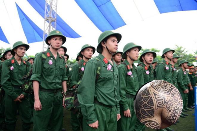 Xăm hình có phải đi nghĩa vụ quân sự không?