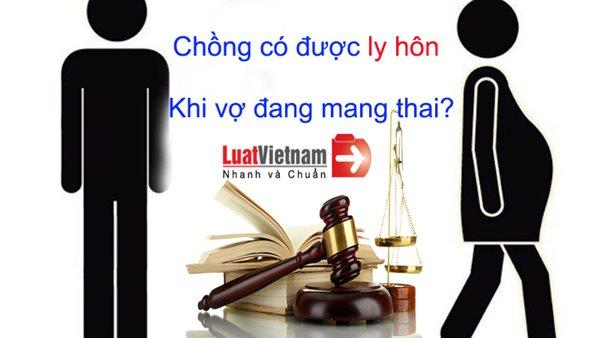 vo dang mang thai co ly hon duoc khong