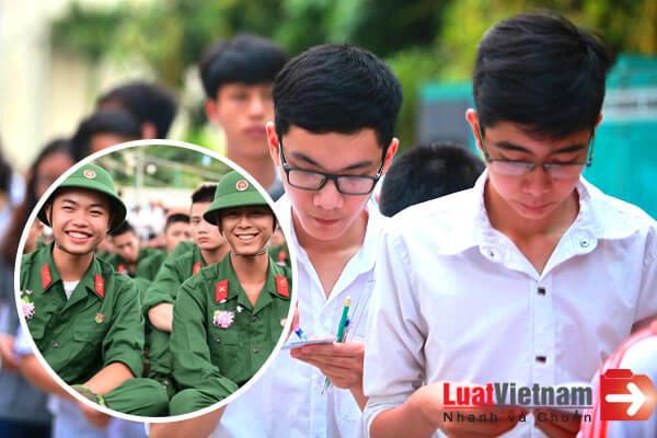 Đang đi nghĩa vụ quân sự có được thi đại học?
