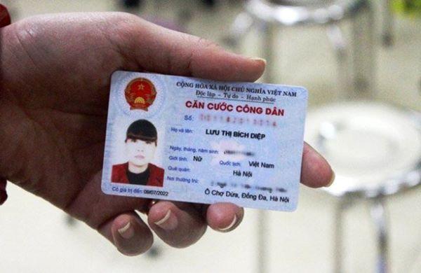 Bộ Công an hợp nhất quy định về mẫu thẻ Căn cước công dân