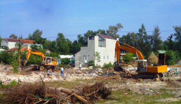 cưỡng chế thu hồi đất