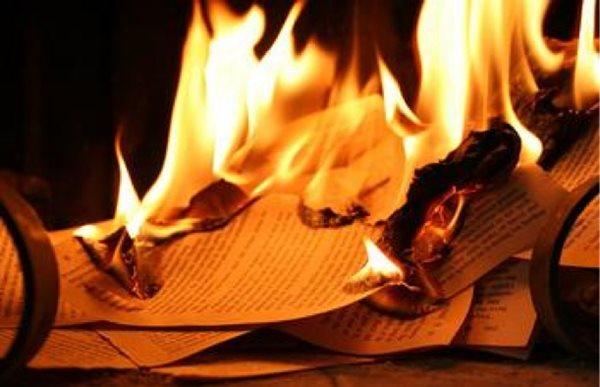 đốt sách trường Amsterdam