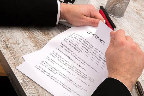 phân biệt hủy bỏ hợp đồng và đơn phương chấm dứt hợp đồng