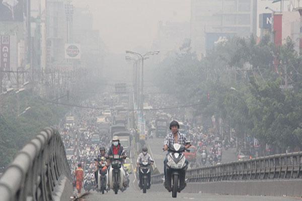 thống kê, đánh giá các điểm nóng ô nhiễm không khí