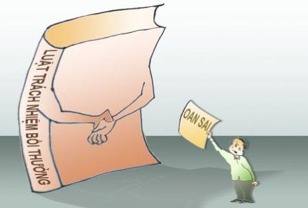 bồi thường thiệt hại trong các vụ án oan sai