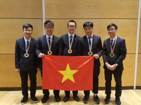 Thí sinh dự thi Olympic quốc tế 2019 được tuyển thẳng vào đại học