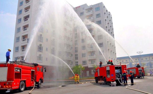 tăng cường công tác phòng cháy chữa cháy