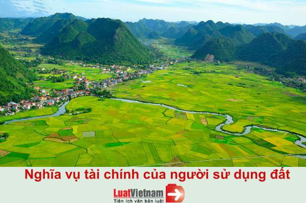 Toàn bộ các khoản tiền phải nộp của người sử dụng đất