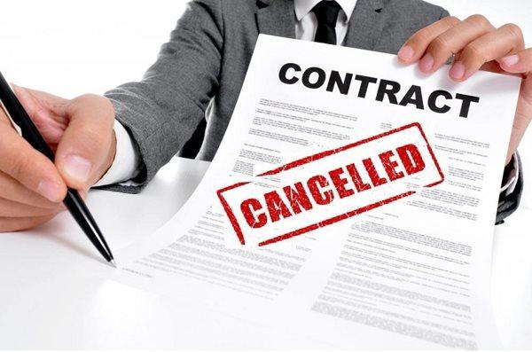 hủy hợp đồng đặt cọc mua bán đất
