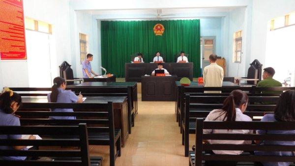 xét xử tại tòa án
