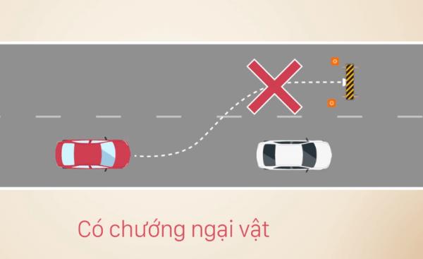 cách vượt xe đúng luật