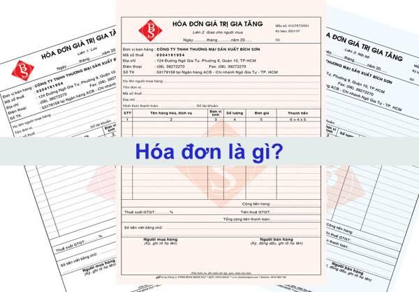 hóa đơn là gì