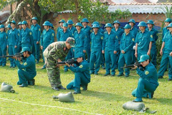 chưa đi nghĩa vụ quân sự phải tham gia dân quân tự vệ