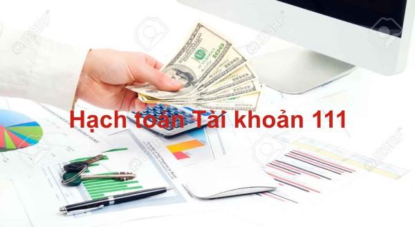 Cách hạch toán tài khoản tiền mặt
