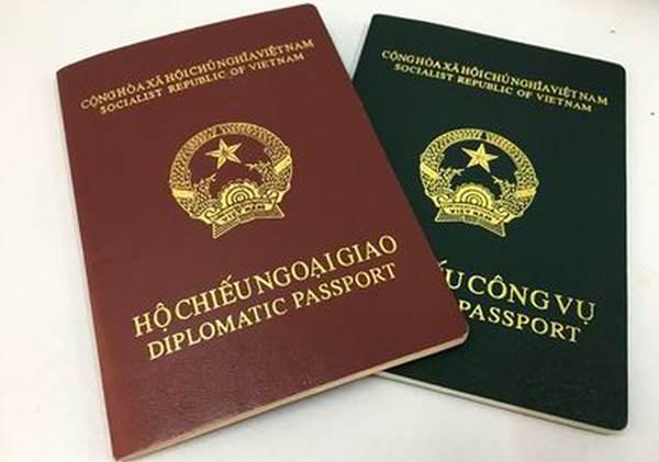 tờ khai cấp hộ chiếu ngoại giao