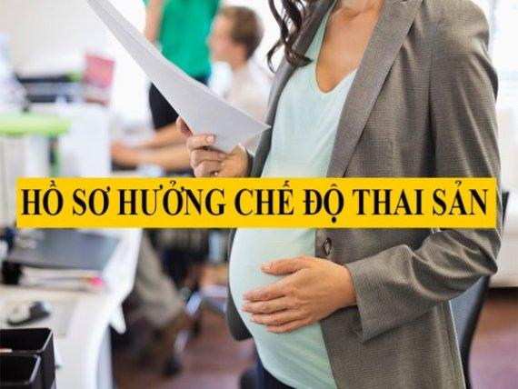 Hồ sơ hưởng chế độ thai sản