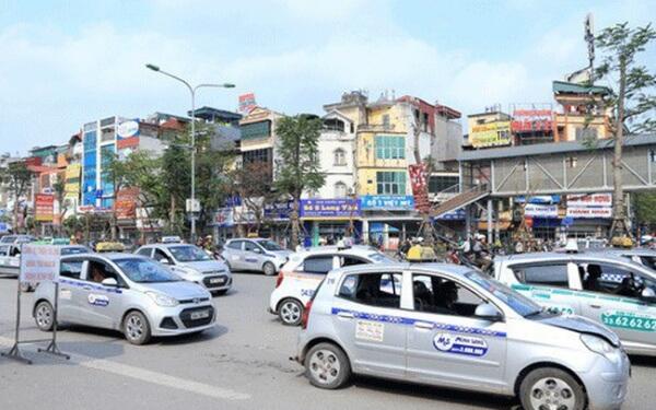 taxi Hà Nội sẽ có 5 màu sơn