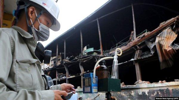vụ cháy nhà máy Rạng Đông
