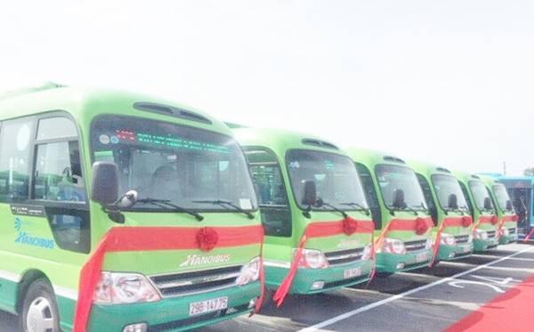 Hà Nội triển khai hệ thống xe buýt nhỏ
