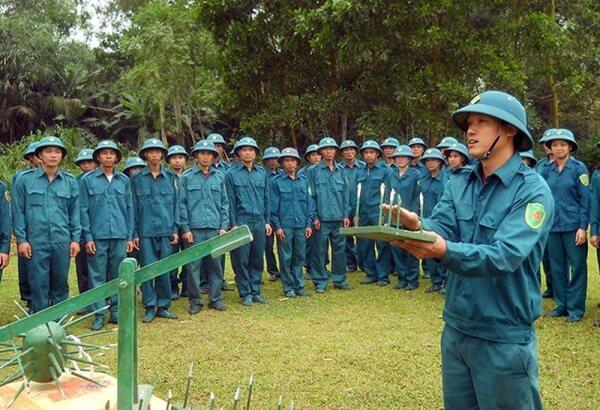 miễn nghĩa vụ dân quân tự vệ