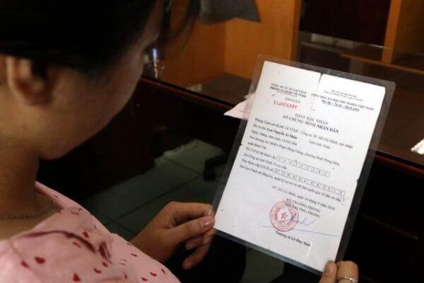 hướng dẫn mới nhất về cấp giấy xác nhận số CMND