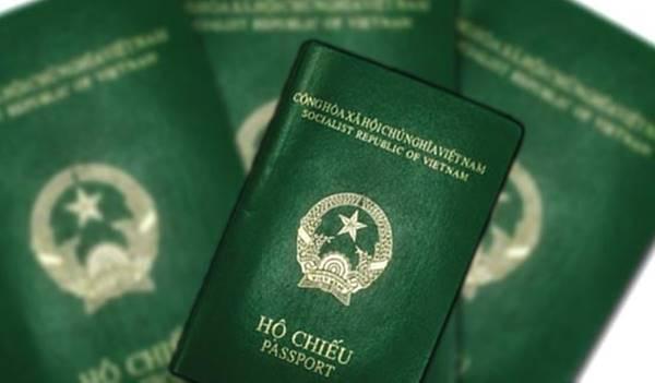 hộ chiếu được cấp riêng cho từng người