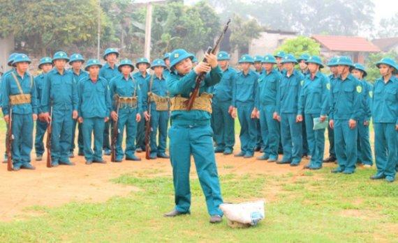 Luật Dân quân tự vệ sửa đổi