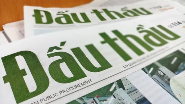 báo đấu thầu không phải phát hành hàng ngày
