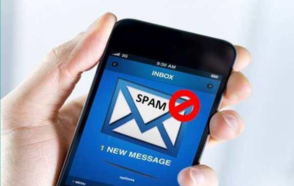 đăng ký chặn tin nhắn rác